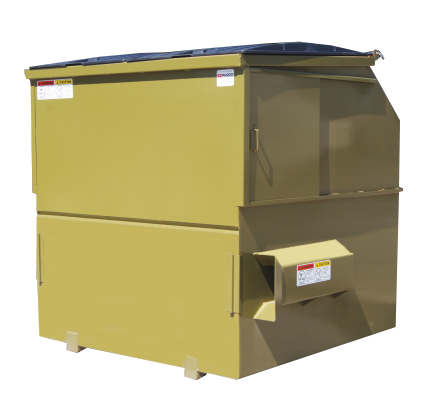 2 Yard 10 Yard Front Loading Containers Rudco Products